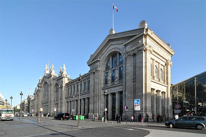 建築マップ フランス パリ北駅